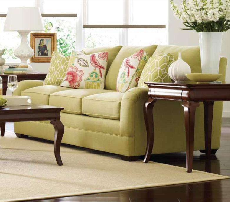 Custom Select Upholstery Custom 3-Seater Stationary Sofa by Kincaid Furniture at Johnny Janosik