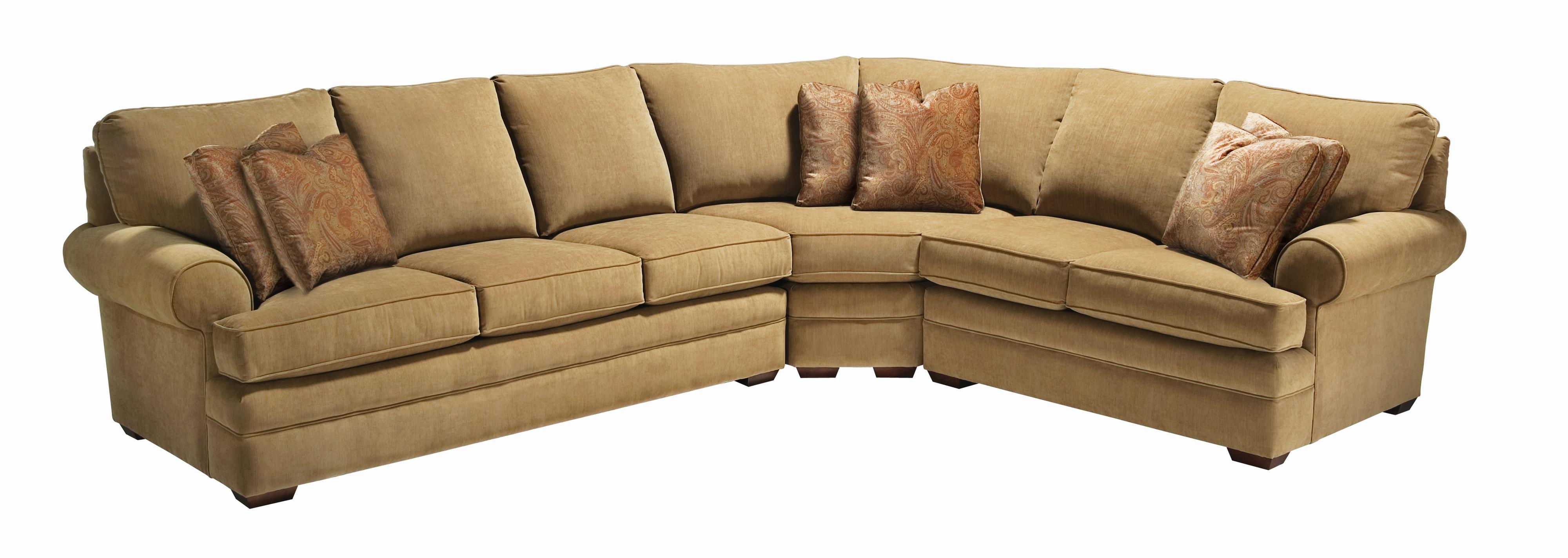 Custom Select Upholstery Custom 3-Piece Sectional Sofa by Kincaid Furniture at Johnny Janosik