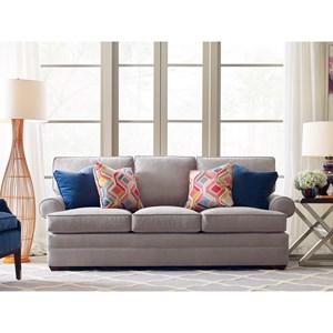 Custom Three-Seat Stationary Sofa