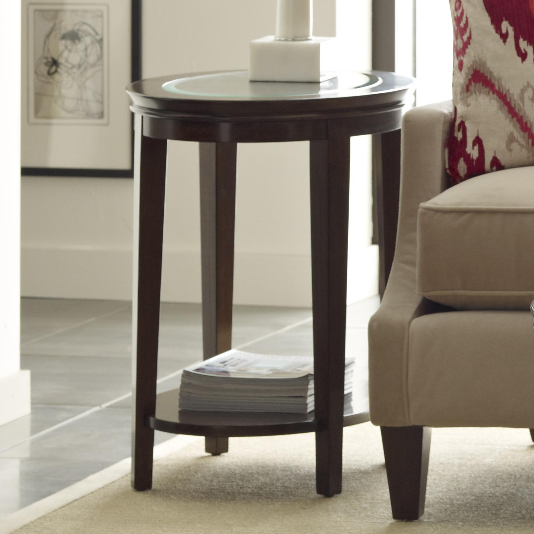 Elise Elise Oval End Table by Kincaid Furniture at Johnny Janosik