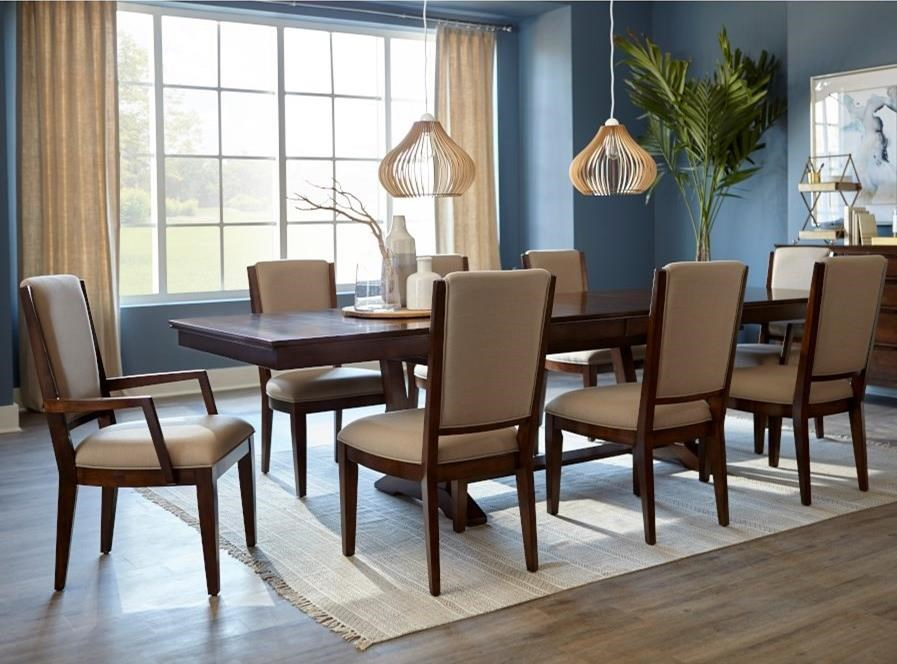 Elise 9-Piece Dining Set by Kincaid Furniture at Northeast Factory Direct