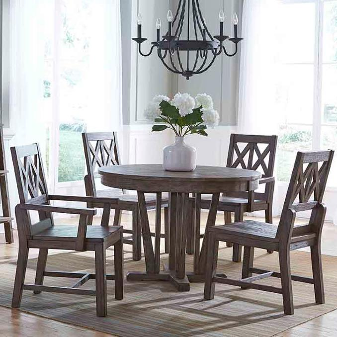 Foundry 5 Pc Dining Set by Kincaid Furniture at Wilson's Furniture