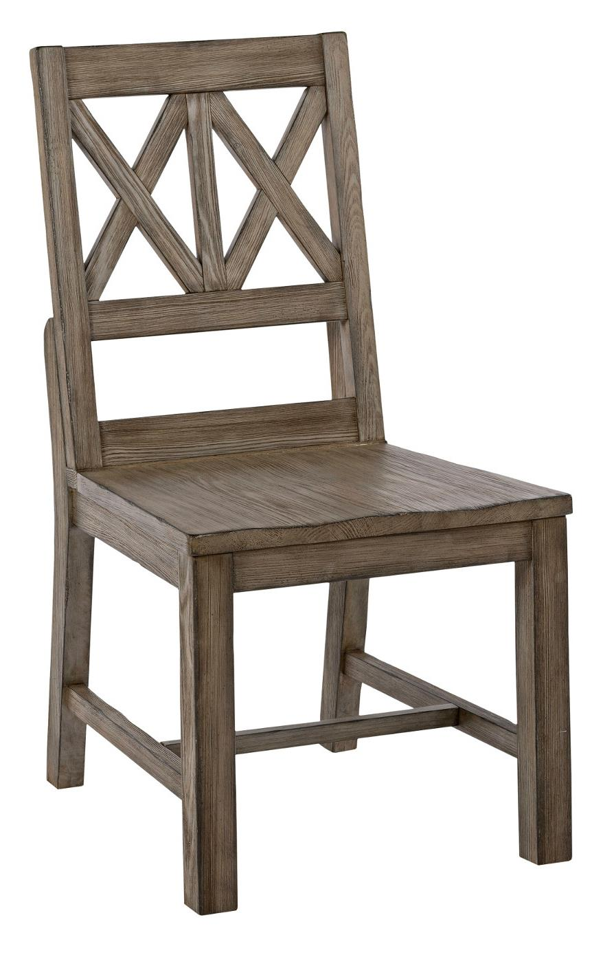 Foundry Wood Side Chair at Stoney Creek Furniture