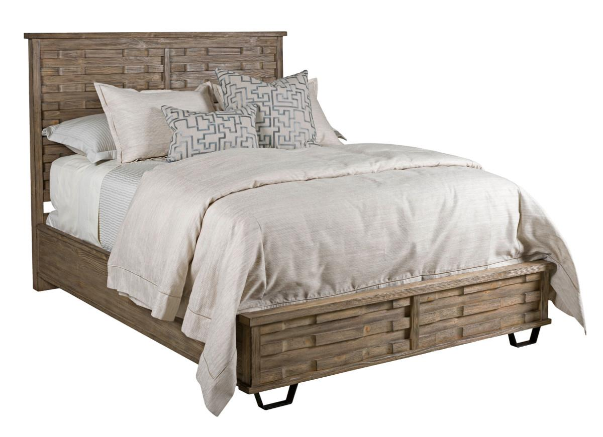 Foundry Queen Panel Bed by Kincaid Furniture at Johnny Janosik