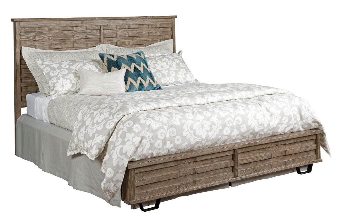 Foundry King Panel Bed by Kincaid Furniture at Northeast Factory Direct