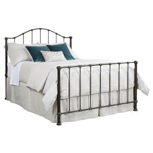 King Wrought Iron Garden Bed