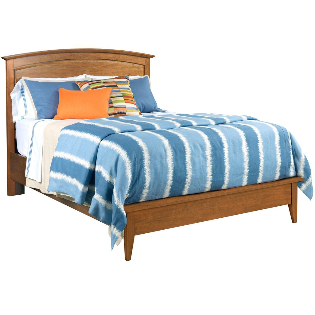 Gatherings Queen Arch Bed by Kincaid Furniture at Northeast Factory Direct