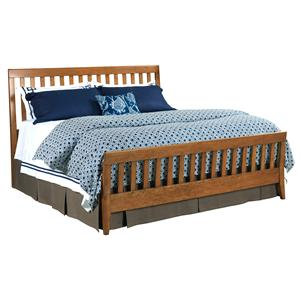 Kincaid Furniture Gatherings King Slat Bed