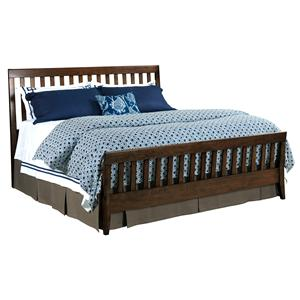 Kincaid Furniture Gatherings Queen Slat Bed