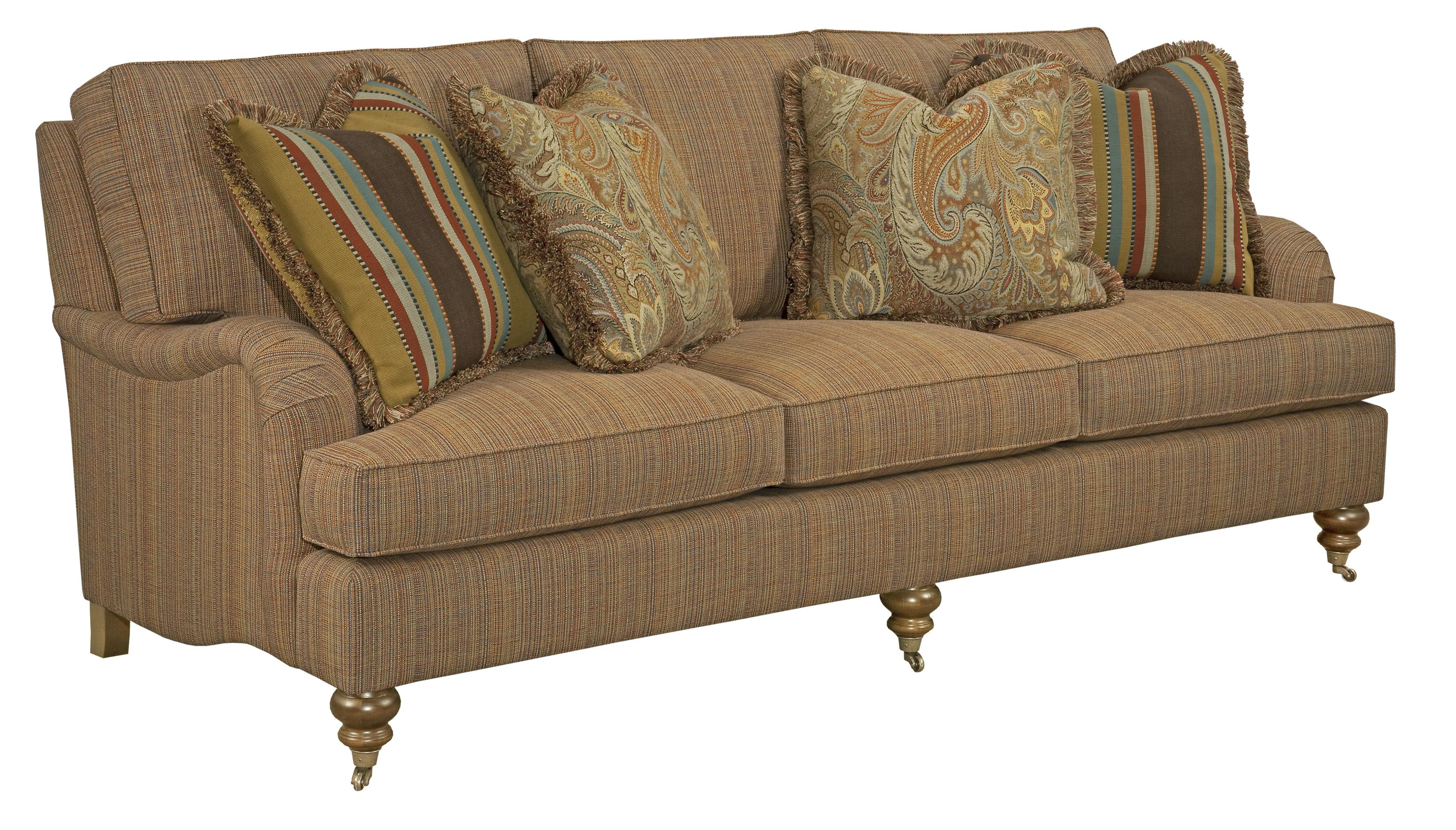 Greenwich 3 Over 3 Sofa by Kincaid Furniture at Johnny Janosik