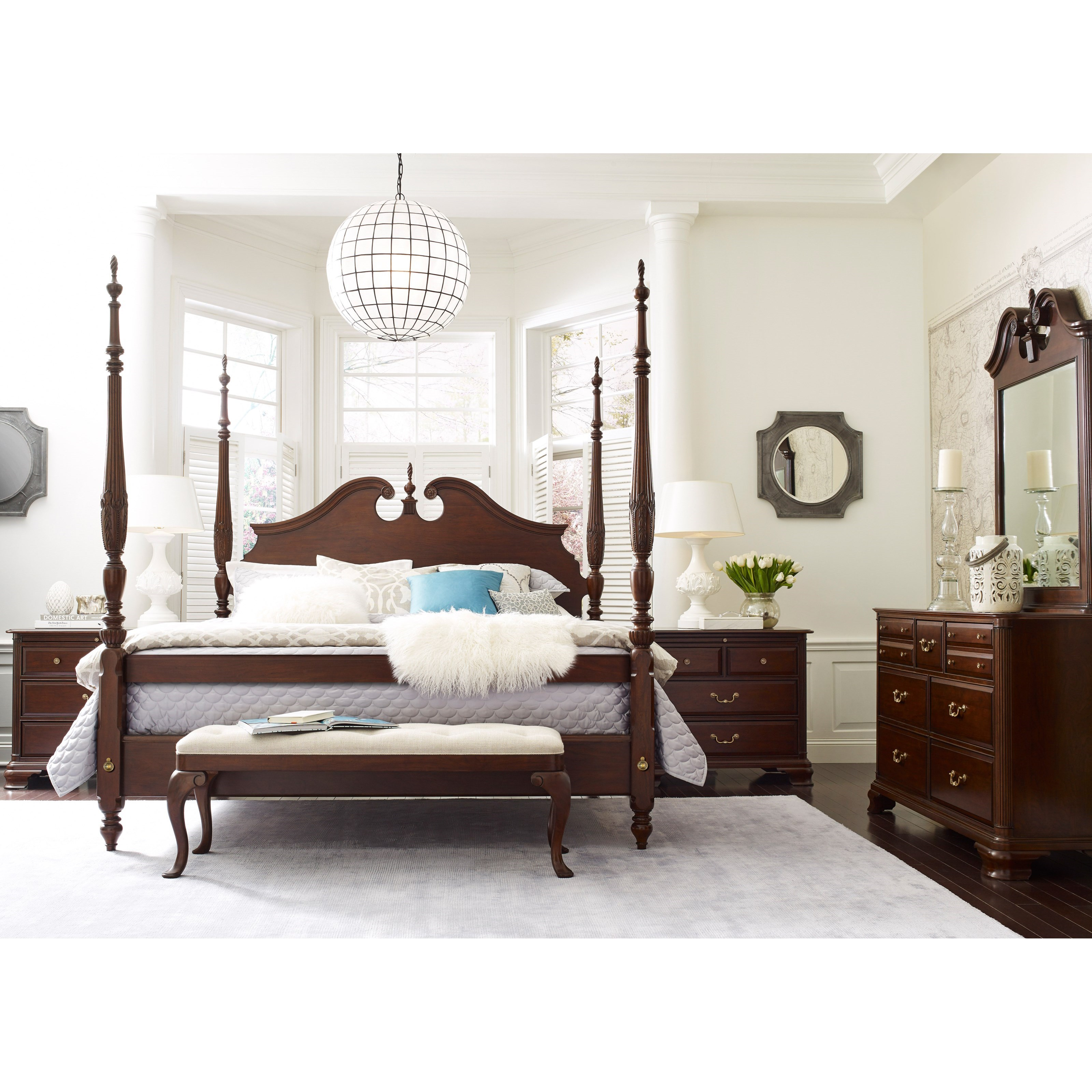 Hadleigh Queen Bedroom Group by Kincaid Furniture at Johnny Janosik