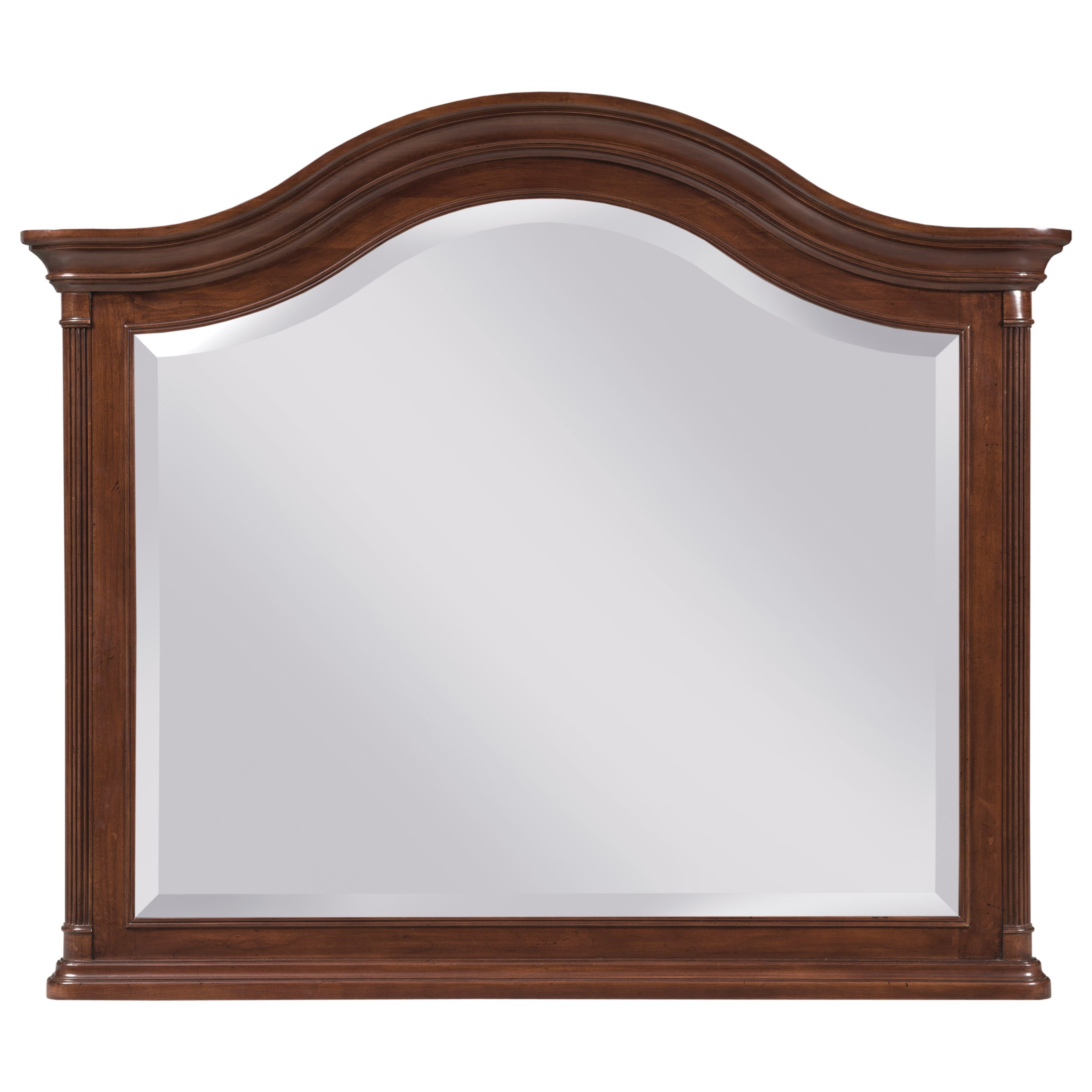 Hadleigh Arched Landscape Mirror by Kincaid Furniture at Northeast Factory Direct