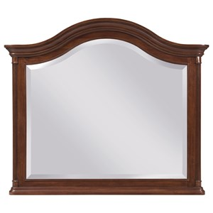 Traditional Arched Landscape Mirror