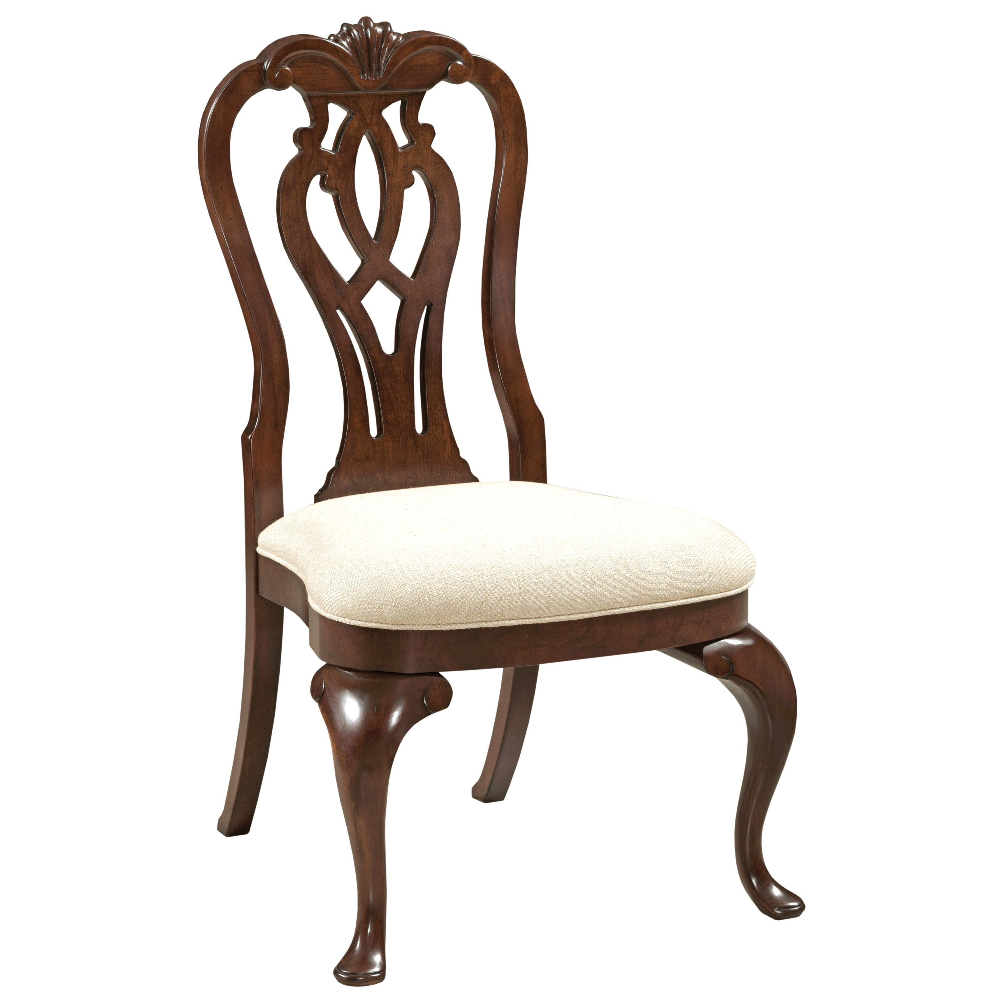 Hadleigh Queen Anne Side Chair by Kincaid Furniture at Johnny Janosik