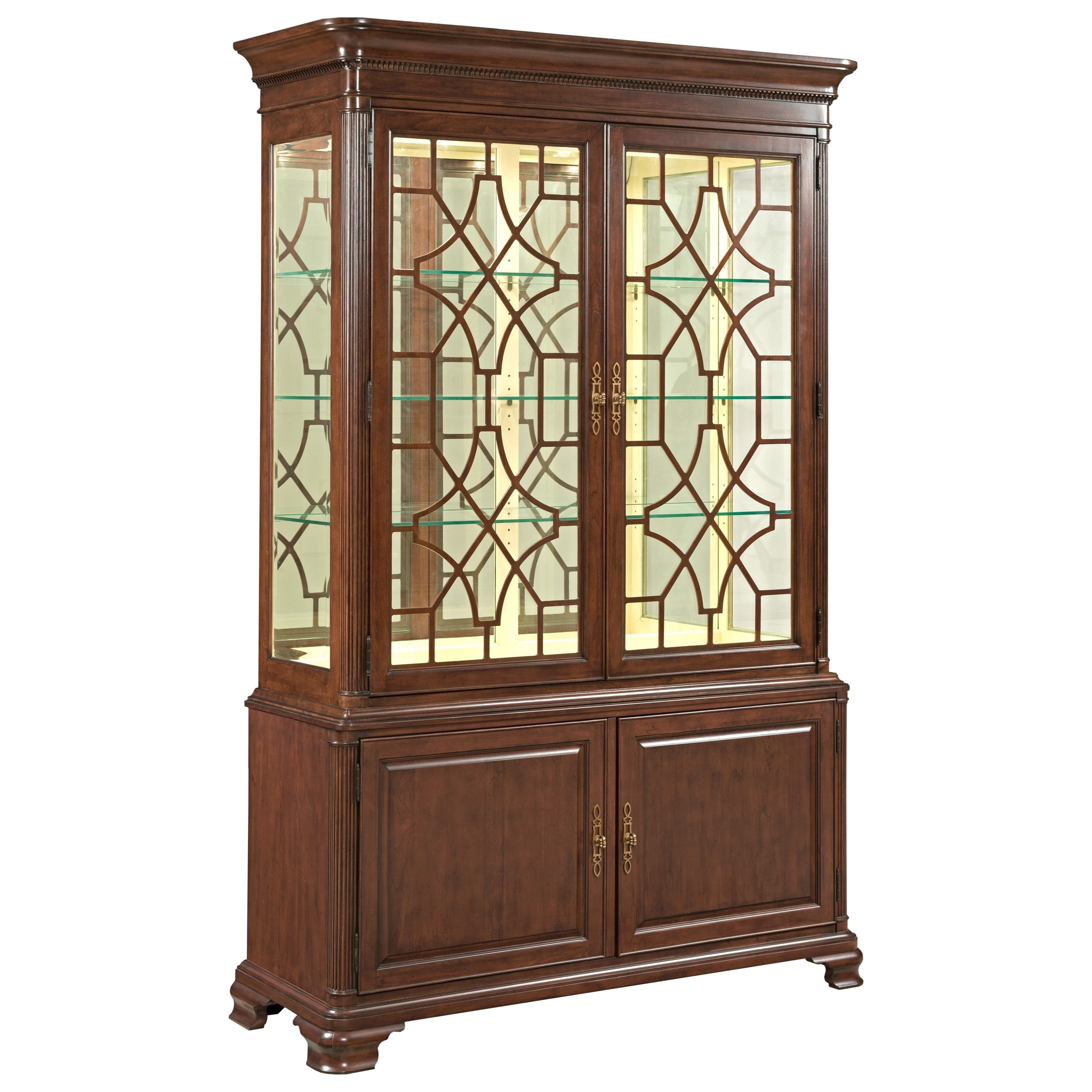Hadleigh China Cabinet by Kincaid Furniture at Johnny Janosik