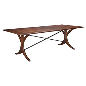 "Kincaid Furniture Homecoming New River 94"" Dining Table"