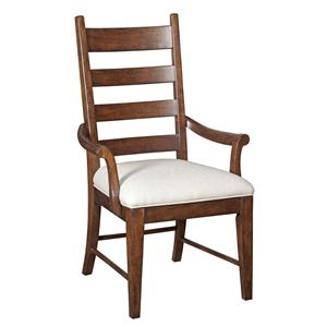 Kincaid Furniture Homecoming Patterson Ladderback Arm Chair