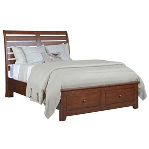 Kincaid Furniture Homecoming Queen Cumberland Sleigh Bed w/ Storage
