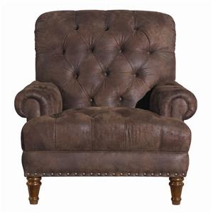 Kincaid Furniture Accent Chairs Tufted Accent Chair