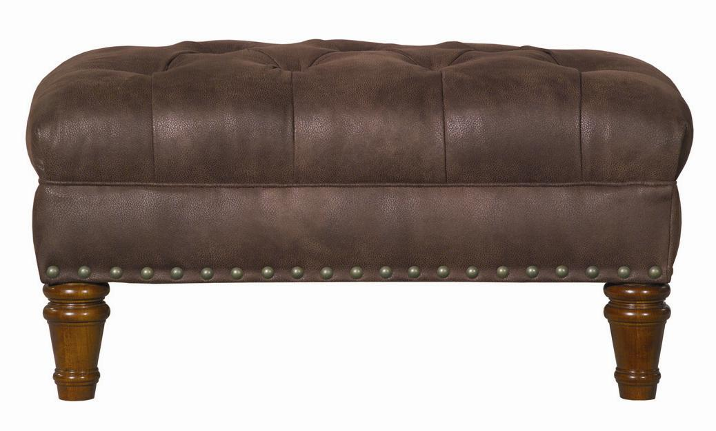 Accent Chairs Tufted Ottoman by Kincaid Furniture at Johnny Janosik