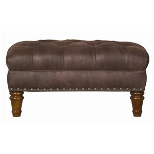 Kincaid Furniture Accent Chairs Tufted Ottoman