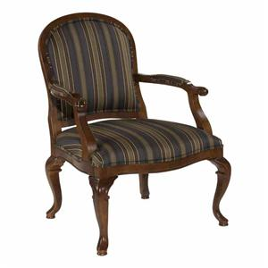 Kincaid Furniture Accent Chairs Exposed Wood Chair