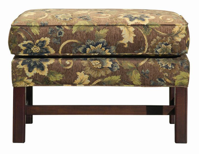 Accent Chairs Rectangular Ottoman by Kincaid Furniture at Johnny Janosik