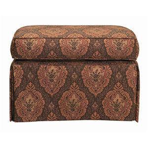 Skirted Accent Ottoman