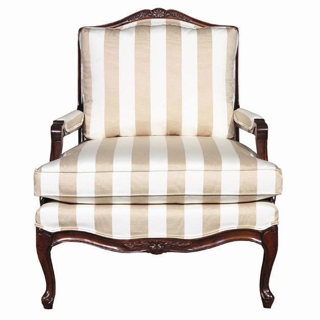 Accent Chairs Exposed Wood Accent Chair by Kincaid Furniture at Johnny Janosik