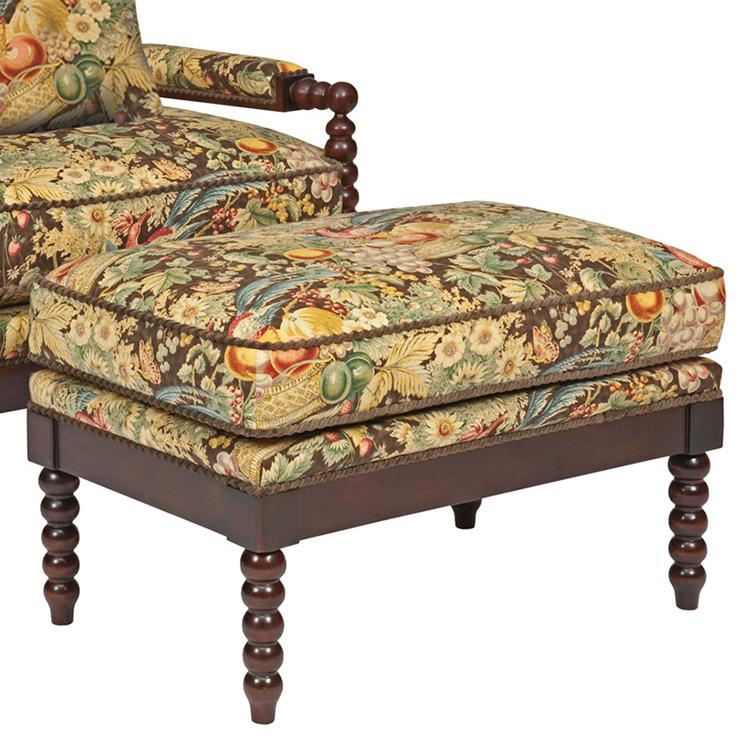 Accent Chairs Jenny Ottoman by Kincaid Furniture at Johnny Janosik