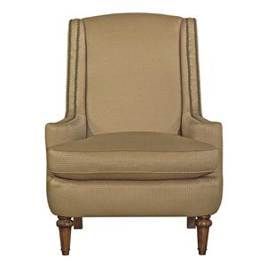 Upholstered Accent Chair with Nailhead Trim