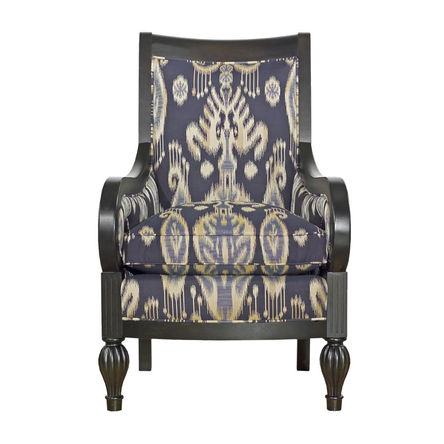 Accent Chairs Wood Framed Chair by Kincaid Furniture at Home Collections Furniture