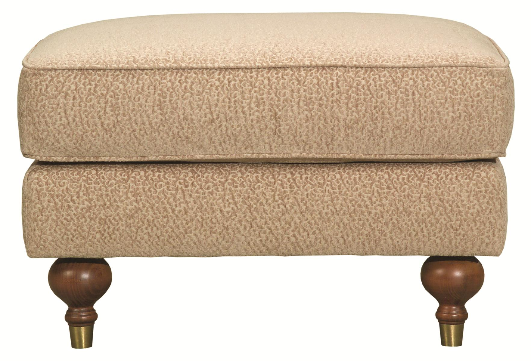Accent Chairs Raymond Ottoman by Kincaid Furniture at Johnny Janosik