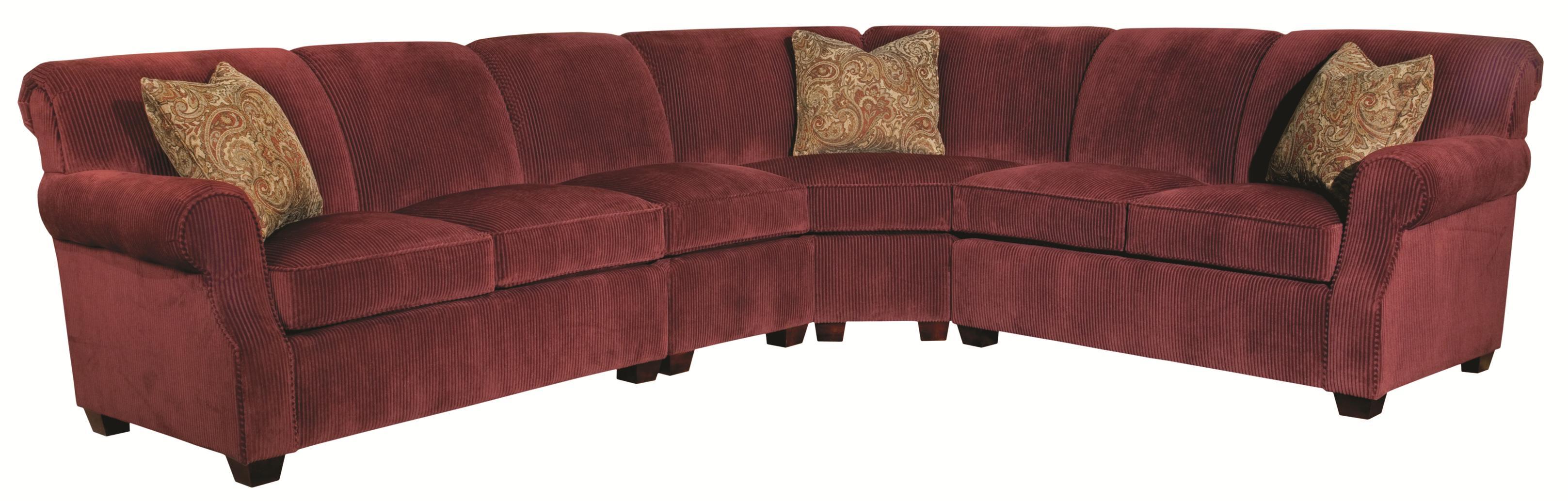 Lynchburg 4 Piece Sectional Sofa by Kincaid Furniture at Johnny Janosik