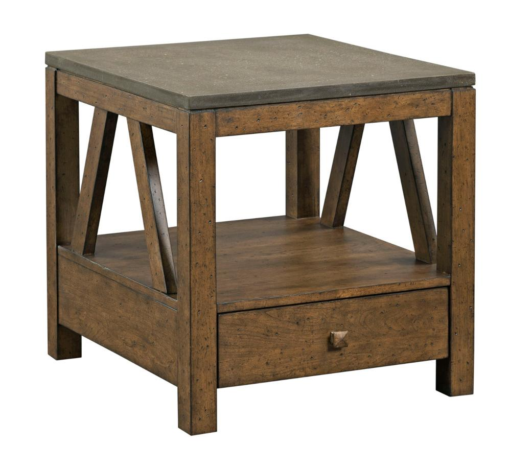 Mason End Table with Drawer by Kincaid Furniture at Johnny Janosik