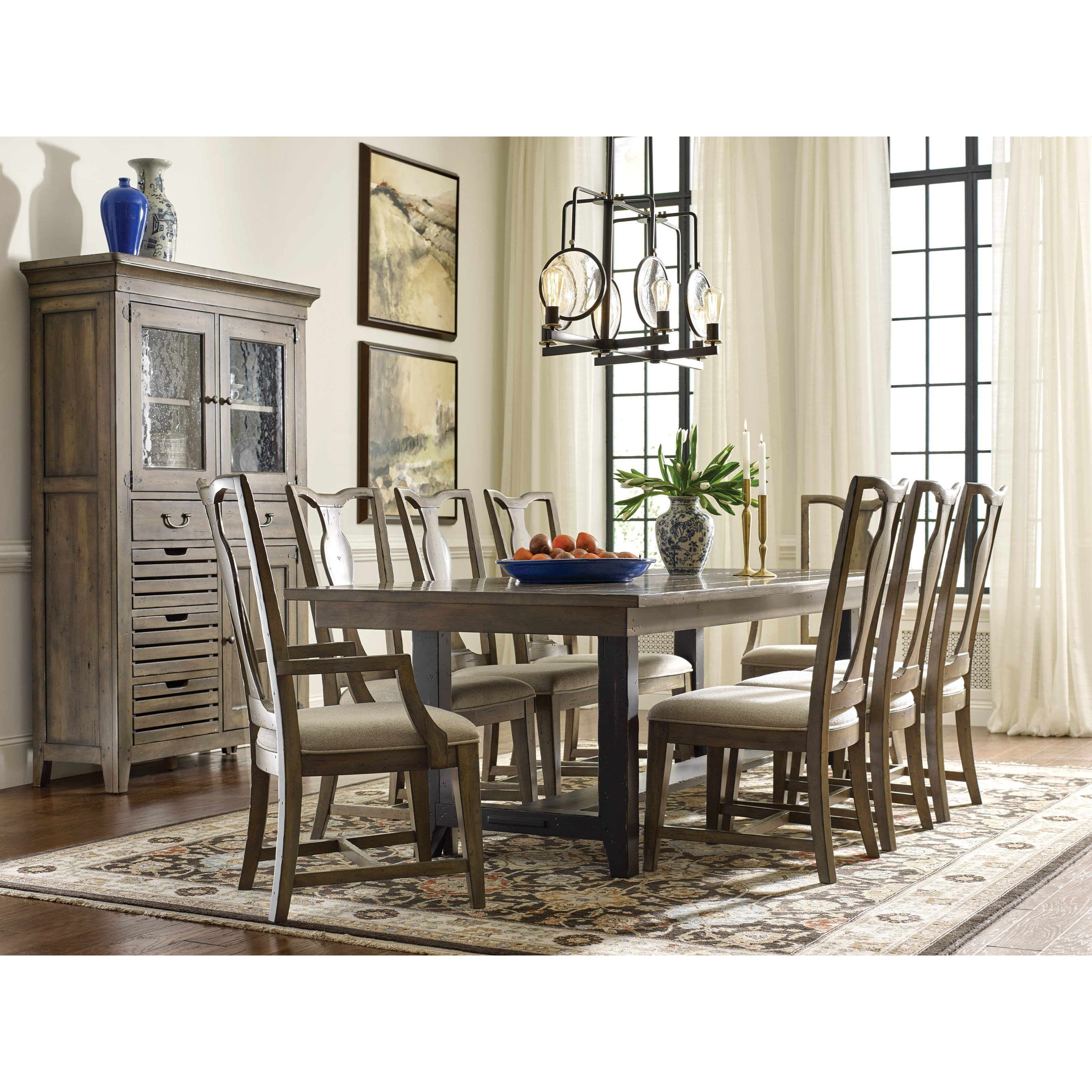 Mill House Formal Dining Room Group by Kincaid Furniture at Jacksonville Furniture Mart