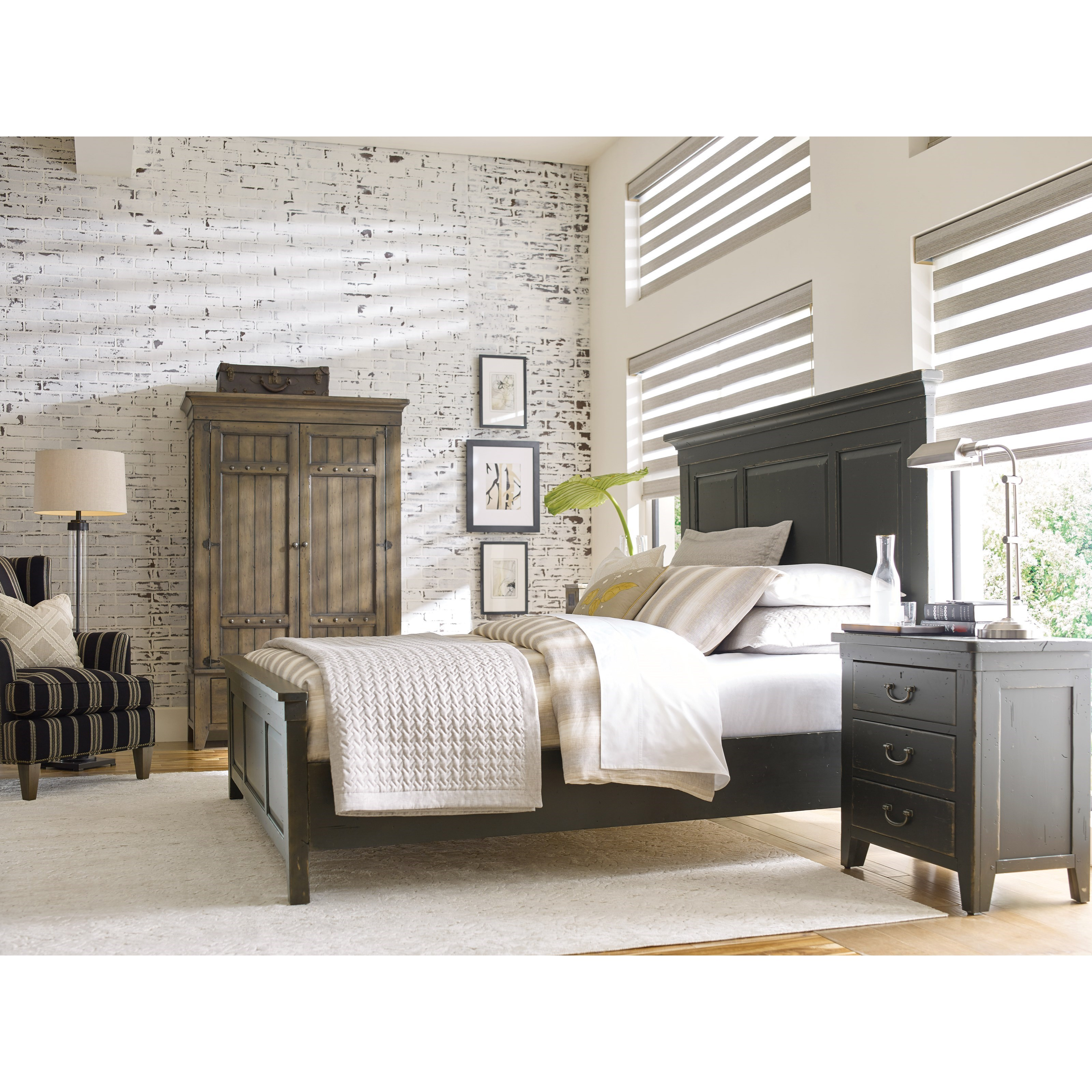 Mill House California King Bedroom Group by Kincaid Furniture at Northeast Factory Direct
