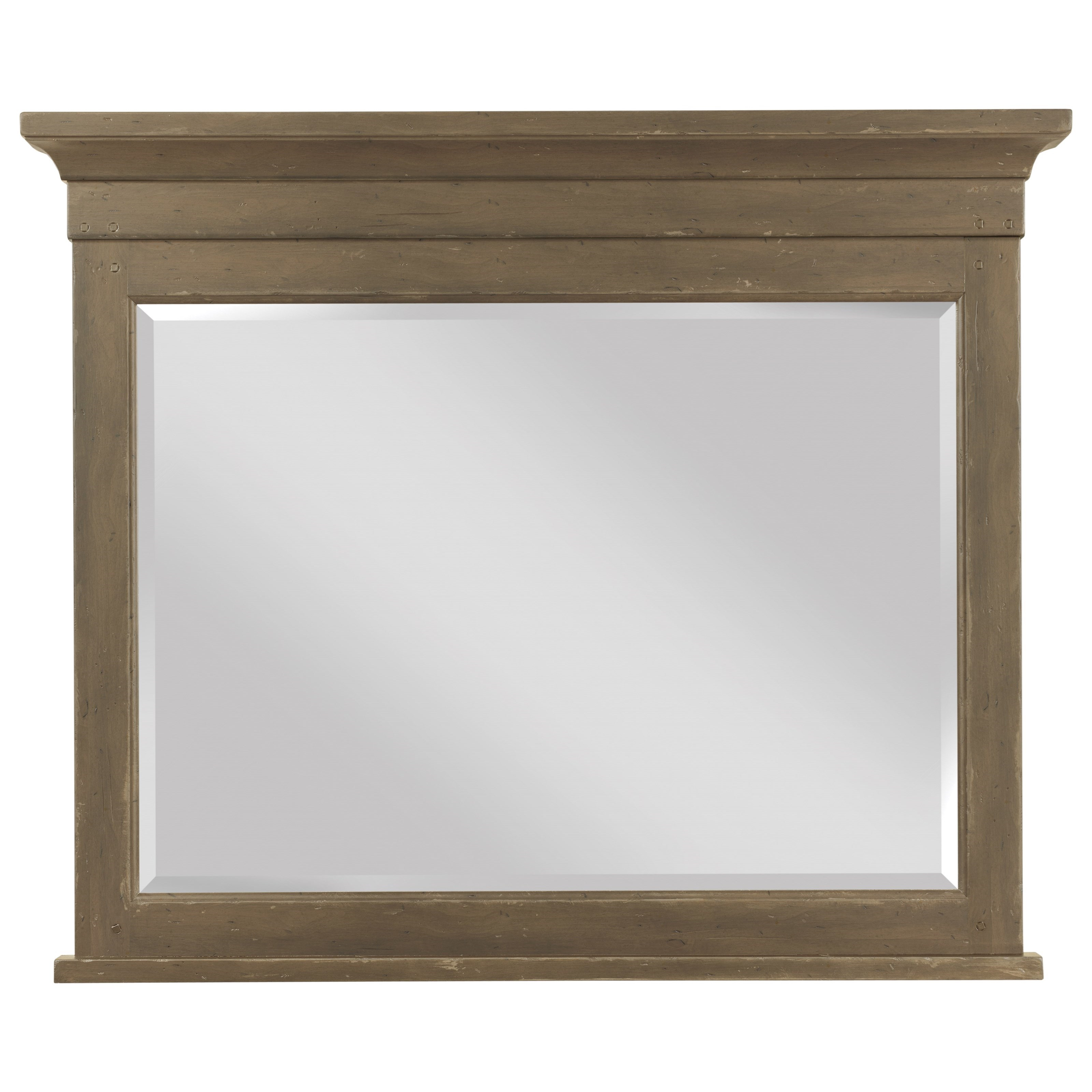 Mill House Reflection Mirror by Kincaid Furniture at Jacksonville Furniture Mart