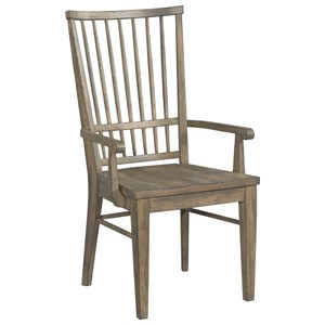 Cooper Solid Wood Arm Chair