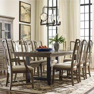 Dining Table and Chair Set for 8