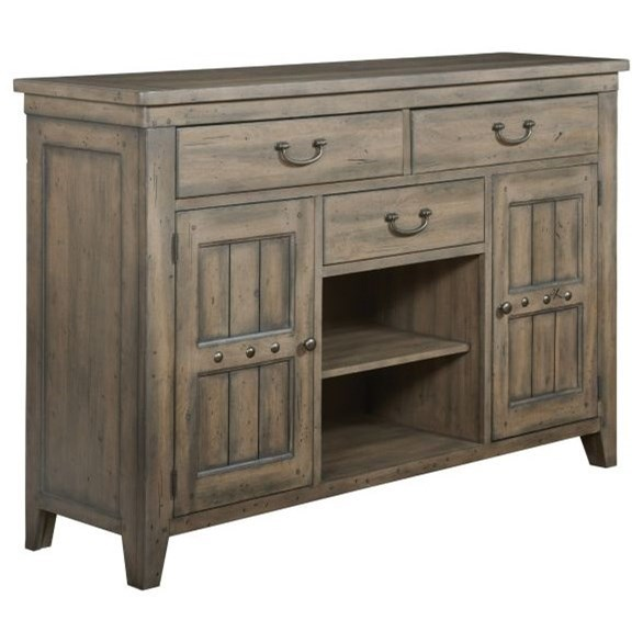 Mill House Ellis Buffet by Kincaid Furniture at Northeast Factory Direct