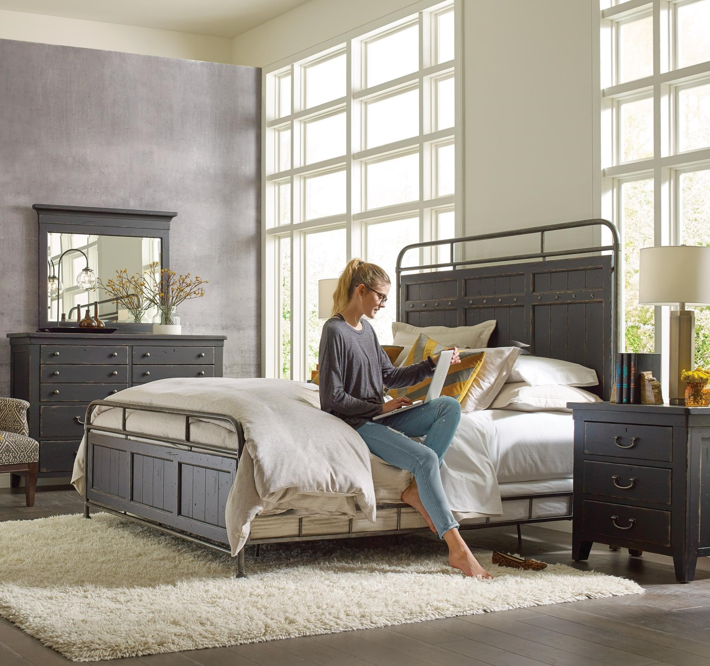 Mill House Queen Bedroom Group by Kincaid Furniture at Johnny Janosik