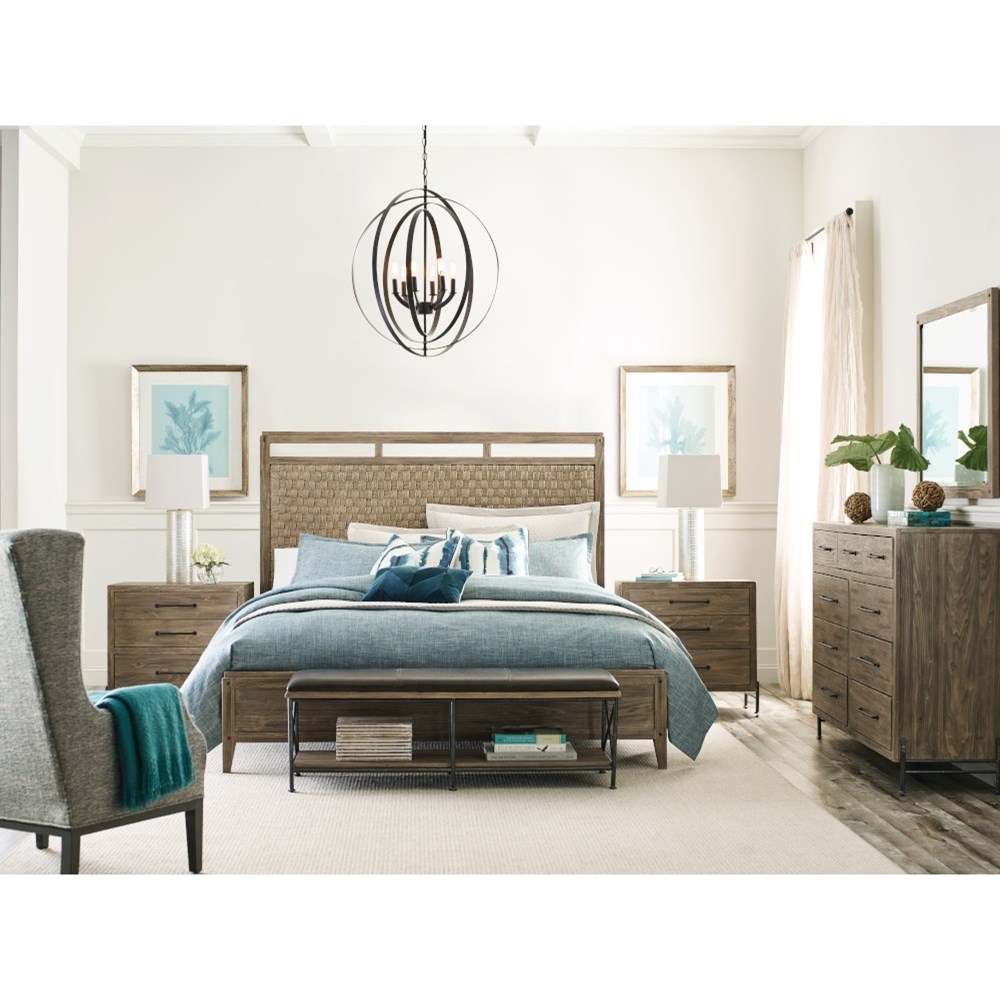 Modern Forge California King Bedroom Group by Kincaid Furniture at Johnny Janosik