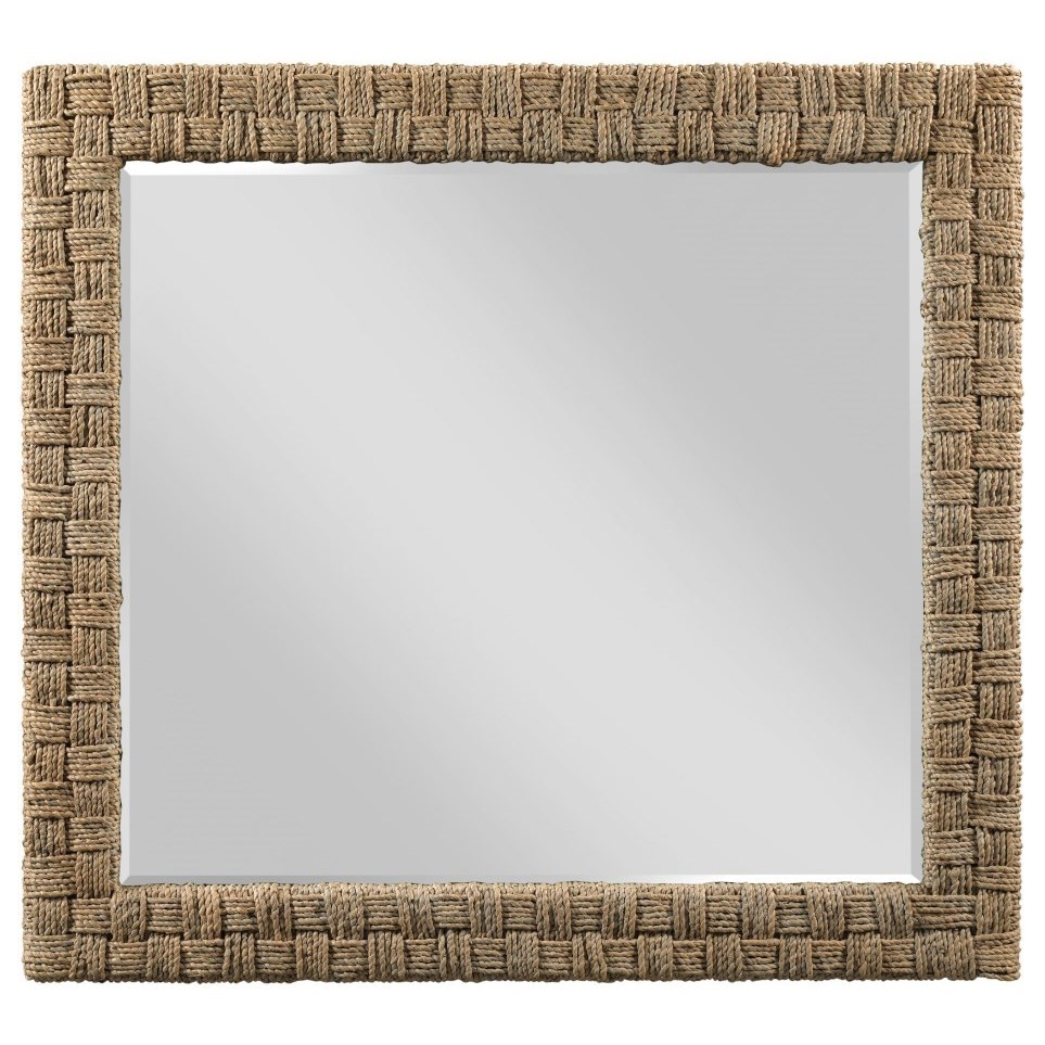 Modern Forge Woven Mirror by Kincaid Furniture at Goods Furniture