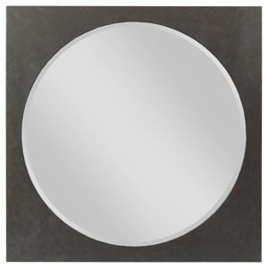 Square Metal Mirror