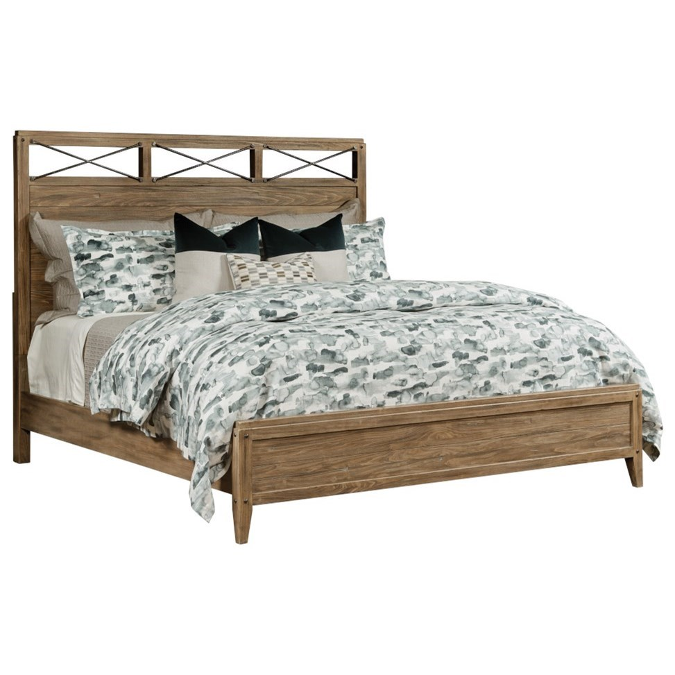 Modern Forge Jackson Queen Bed by Kincaid Furniture at Johnny Janosik