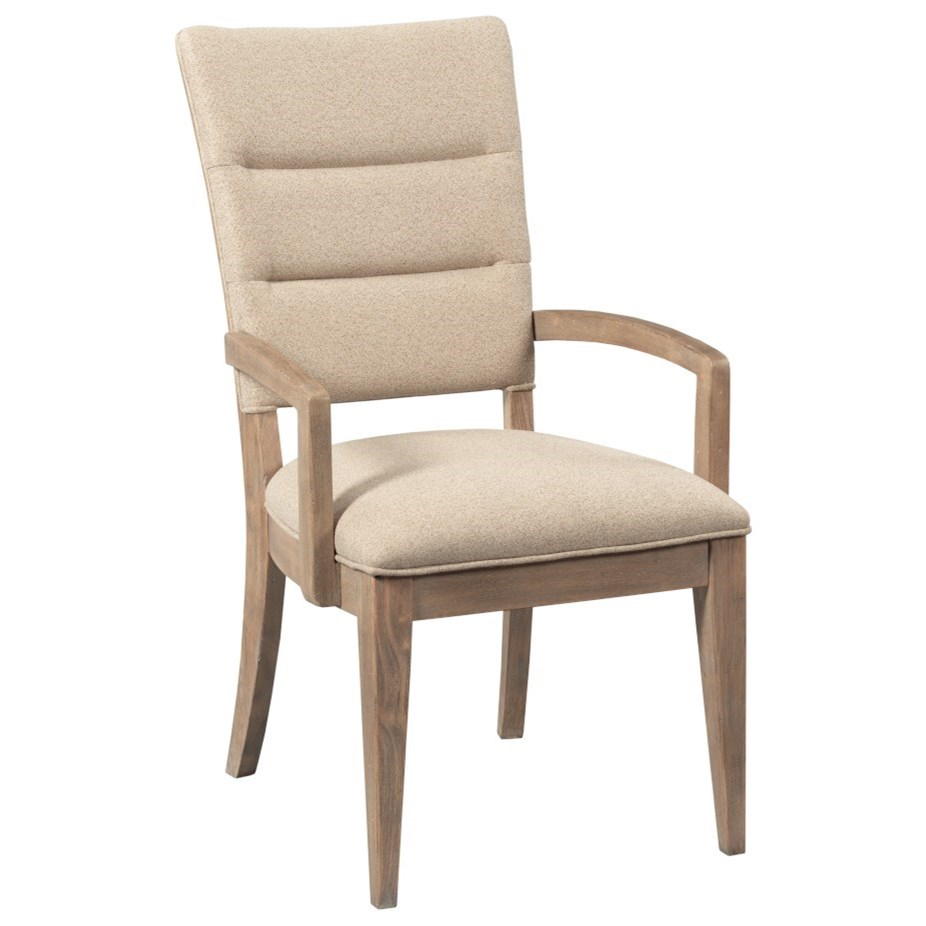 Modern Forge Emory Arm Chair by Kincaid Furniture at Johnny Janosik