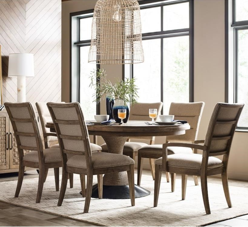 Modern Forge 7-Piece Dining Set by Kincaid Furniture at Northeast Factory Direct