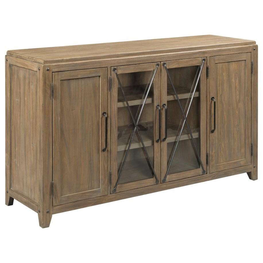 Modern Forge Dawson Server by Kincaid Furniture at Johnny Janosik