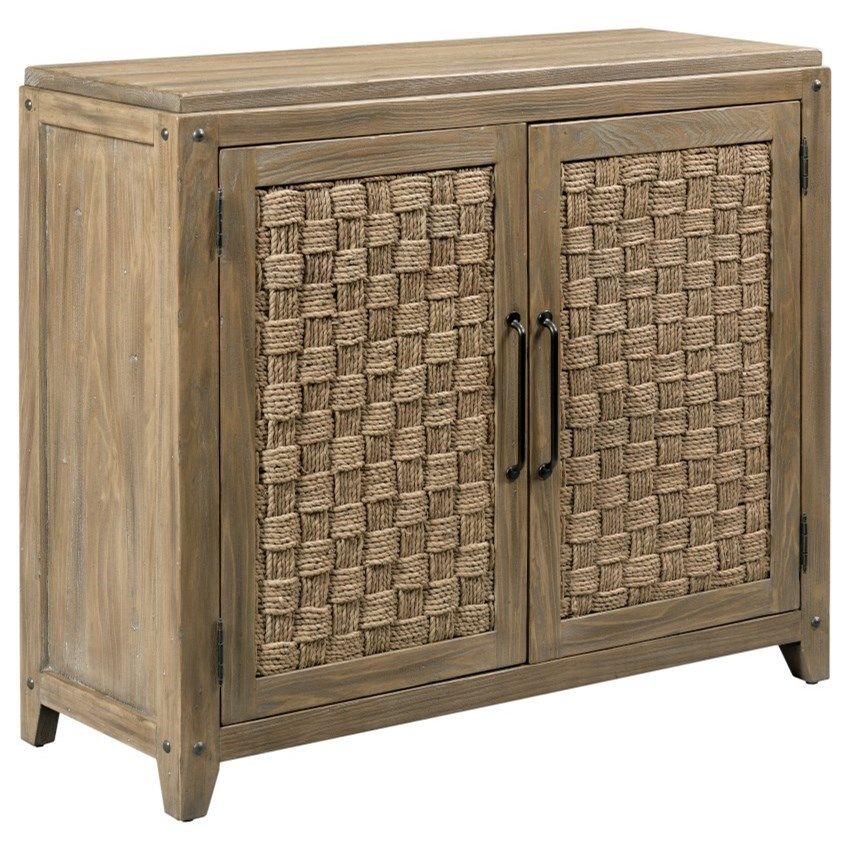 Modern Forge Leona Accent Chest by Kincaid Furniture at Johnny Janosik